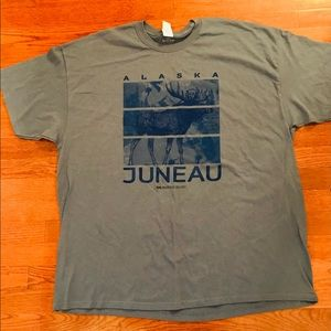 PRINCESS CRUISES JUNEAU ALASKA SHIRT BLUE 2XL